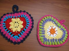crochet..done small for ear rings <3