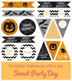 printable Halloween-Sweet Party Day-1