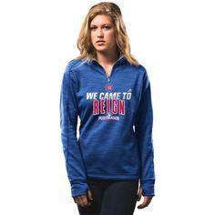 Chicago Cubs Women's 2016 Authentic Collection Postseason Participant 1/4-Zip Sweatshirt  #ChicagoCubs #Cubs #FlyTheW SportsWorldChicago.com