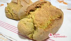 Pane con lievito madre alla curcuma e semi di papavero Kamut, Ricotta, Banana Bread, Pizza, Desserts, Recipes, Food, Cakes, Oatmeal