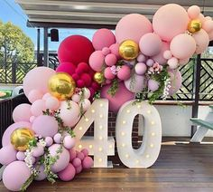 How to Make Balloon Garland-Popular Balloon Decorations Using Balloons - Balloon Decorations 🎈 40th Birthday Balloons, Elegant Birthday Party, Birthday Balloon Decorations, 40th Birthday Parties, Elegant Party Decorations, Party Wedding, Birthday Party Ideas For Adults, Party Decoration Ideas, 50th Anniversary Decorations