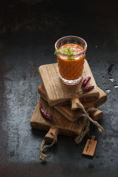 Bloddy Mary Tomato Soup