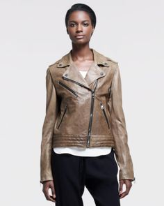 Rag & Bone - Bowery Leather Motorcycle Jacket
