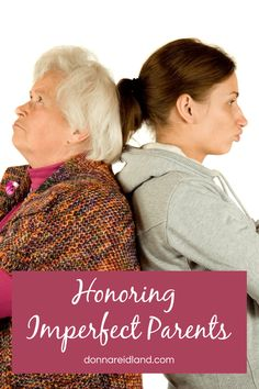 God clearly commands us, even as adults, to honor and respect our parents. Yet, many of us grew up in homes with imperfect parents, even those who were abusive in some way. How do we honor parents when we believe they failed us in some way? #parents #adult #children