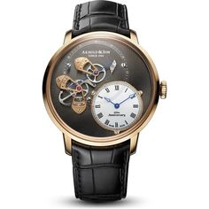 Arnold & Son Dial Side True Beat Red Gold