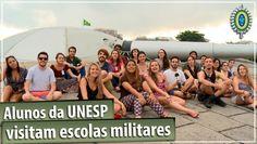 Alunos da UNESP Bauru conhecem Escolas Militares do Exército