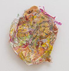 Amandine Drouet, Plastique, recycled plastic and thread (Atlanta)