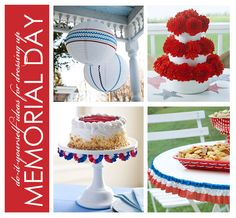 DIY Memorial Day...also works for 4th of July..other patriotic celebrations