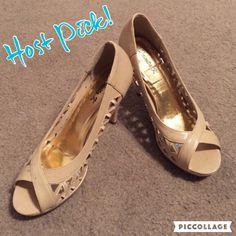 """{Cut Out Heels} Peep Toe Heels • Cut out Side detail • 3"""" Heel Shoes Heels"""