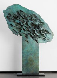 Jacques-Victor André- Arbre Porte Vert 3/8 - sculpture bronze [n°3] 