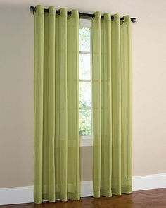 green curtains for my bedroom?