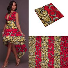 """HOT PRICES FROM ALI - Buy latest cotton african fabric wax /holland style real dutch wa super wax hollandais"""" for only USD. African American Fashion, African Print Fashion, Africa Fashion, African Fashion Dresses, African Outfits, Ankara Fashion, African Attire, African Wear, African Dress"""