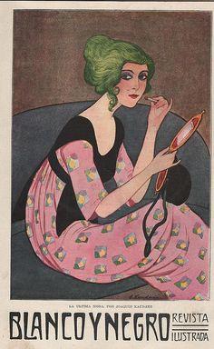 Joaquín Xaudaró, Blanco y Negro, La última moda, April 26, 1914