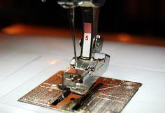 How to do Blind Hem stitch on my Bernina using Presser foot #5.  WeAllSew « http://weallsew.com