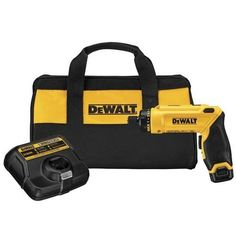 DEWALT DCF680N1 8V Gyroscopic Screwdriver 1Battery Kit Style One Battery Model DCF680N1 Tools  Hardware store >>> Find out more about the great product at the image link.