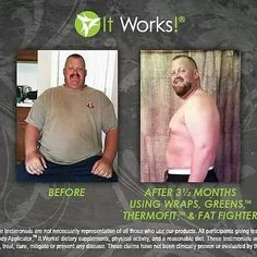Look how amazing those crazy wrap things work!! Real men wrap too!! He has been taking fat fighters,thermofit, greens and using the Wraps He is a  real person with real  results! I love  my It Works products! Contact me when you are ready to make a change with your body and life! I want to help you with your journey! So come join me! Text me at 859-213-1224 or DM me with any questions or shop online at tonahlmillerwraps.myitworks. com today!!!!
