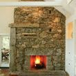 Big stone fireplaces tend to be monolithic, unless they�re the creation of Martha�s Vineyard, Mass., mason Lew French. French�s definition of rock leaps from boulder to pebble to...