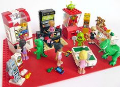 Day at the lego friends arcade by Jemppu M, via Flickr