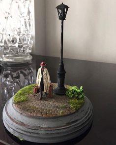Miniature figures By Gül ipek #miniature #mini #diorama#handmade #art #yol #adam #gemiler #yaratıcılık #istanbul
