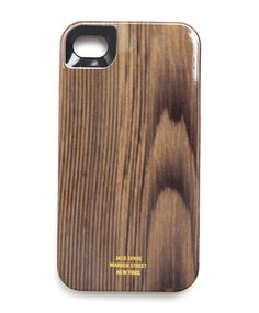 Jack Spade | Designer iPhone 4 Case - Contour Woody iPhone 4 Case