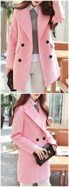 Fall Outfits, Casual Outfits, Cute Outfits, Stylish Coat, Smart Outfit, Jackets For Women, Clothes For Women, Blazer, Casual Elegance