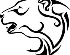 Tribal Polar Bear Vinyl Decal Sticker 308