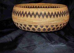 Mono Lake Paiute basket