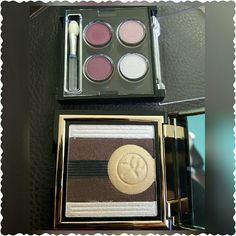 **HOLD**Gorgeous Eyeshadow Palette Bundle Brand new eyeshadow palette bundle. Bundle includes: -Sonia Kashuk limited edition gold palette -lancome eyeshadow quad Super cute and unique!! Lancome Makeup Eyeshadow