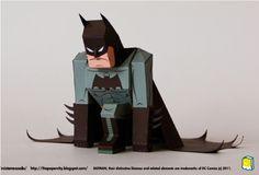 Dans la continuité des super héros, dont nous parlions il y a peu avec le papertoy de Captain America, voici une excellente interprétation du célèbre Batman, dont on peut trouver nombre de déclinaisons en papier sur le Web. Cette version…
