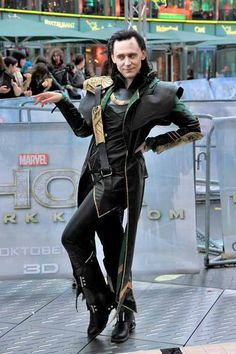 Tom Hiddleston | Loki  I'm just a little bit scared by this.