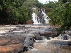 Cascata do Lageado Engenho, Alegria, na localidade denominada Comunidade São José