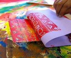 Cassie Stephens: In the Art Room: Troubleshooting Printmaking with the Littles