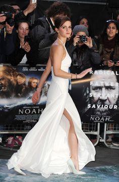 """Emma Watson - London premiere of """"Noah""""."""