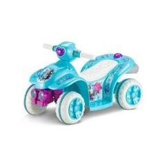 Disney Frozen Power Wheels Ride On Quad Bike 4 Wheeler Toddler's Toy. Disney frozen ride on toy.