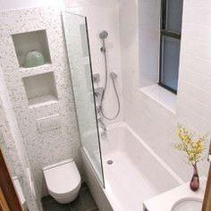 Best Modern Bathroom Shower Ideas For Small Bathroom Tiny Bathrooms, Tiny House Bathroom, Bathroom Design Small, Bathroom Renos, Amazing Bathrooms, Bathroom Ideas, Bathroom Storage, Shower Ideas, Bath Design