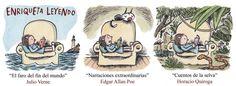 """Artist:Ricardo Siri Liniers. """"Enriqueta leyendo""""."""