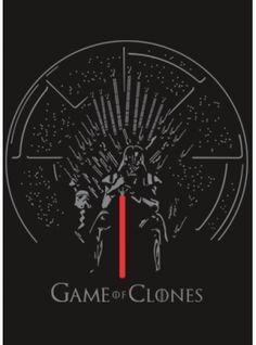 Camiseta GAME OF CLONES