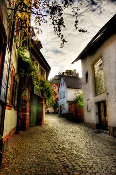 Streets of Schriesheim, Germany