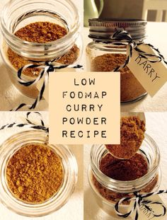 How to make a low FODMAP friendly curry powder! Easy and delicious :) http://soedekatrine.dk/en_GB/hjemmelavet-low-fodmap-karrypulver/