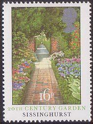 British Gardens 16p Stamp (1983) 20th-Century garden, Sissinghurst