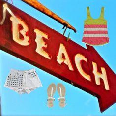 """Beach"" by munkicmunkishop on Polyvore"