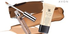 New from Avon! Get the no makeup, makeup look w/ Avon True Color Ideal Nude Foundation & Concealer! #AvonRep