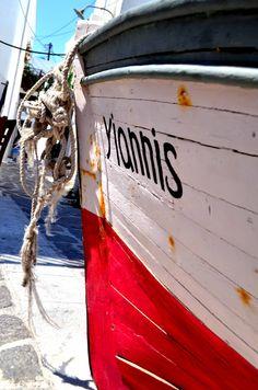 Yannis Boat, Parikia Paros, Greece