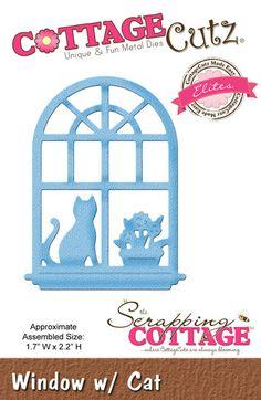 CottageCutz Window w/ Cat (Elites)