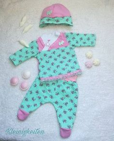 free pattern - kostenloses Babyset von Minamo