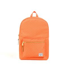 My design inspiration: Settlement Mid Orange Polka Dot on Fab. Polka Dot Backpack, Leather Laptop Backpack, College Bags, Cute Backpacks, Purse Styles, Herschel Supply Co, Clutch Wallet, Travel Accessories, Fashion Backpack