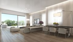 Neutral Open Plan Apartment