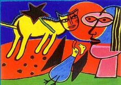 Corneille Guillaume Beverloo (Bélgica/Alemania, 1922-2010).