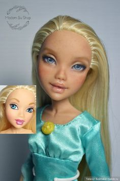 Bratz Doll, Ooak Dolls, Blythe Dolls, Barbie Dolls, Art Dolls, Doll Face Paint, Doll Painting, Monster High Repaint, Monster High Dolls