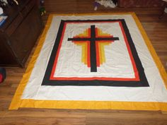 My cross quilt